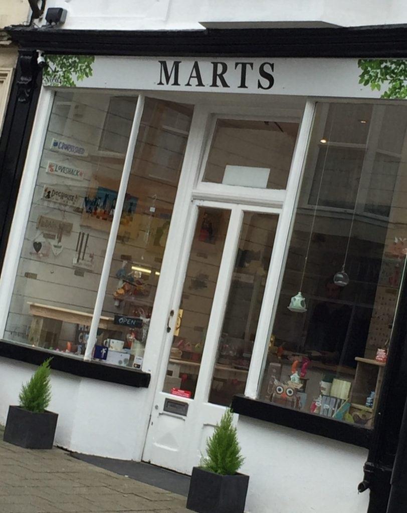 Marts Shop Front Image 01