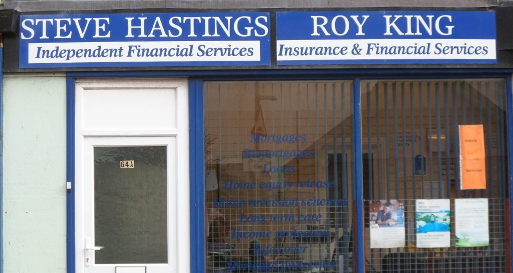Steve Hastings and Roy King Finance