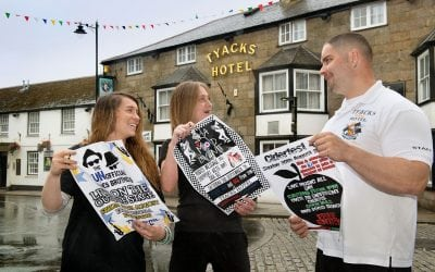 A SUMMER OF FESTIVAL FUN AT CAMBORNE'S TYACKS HOTEL