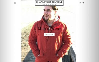 NEW ONLINE WEBSITE AND MENSWEAR COLLECTION AT CHAPEL STREET BOUTIQUE!