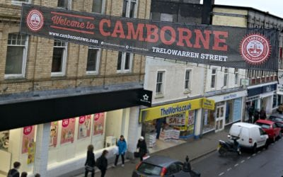 CAMBORNE BUSINESSES HAVE GOVERNMENT APPROVAL TO CONTINUE IMPROVING