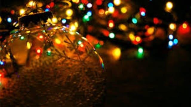 Christmas lights switch on at Camborne Parish Church