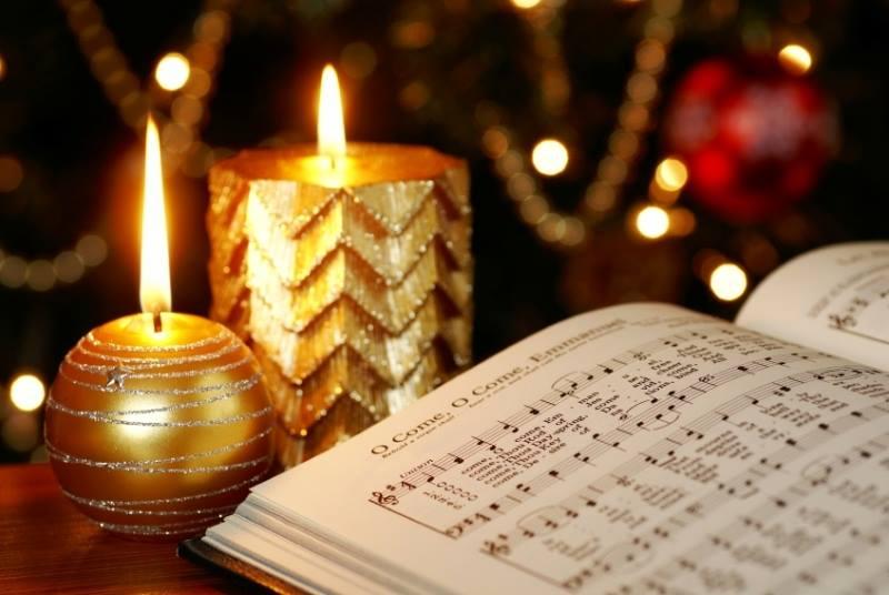 Christmas Carol Concert, Camborne, Cornwall