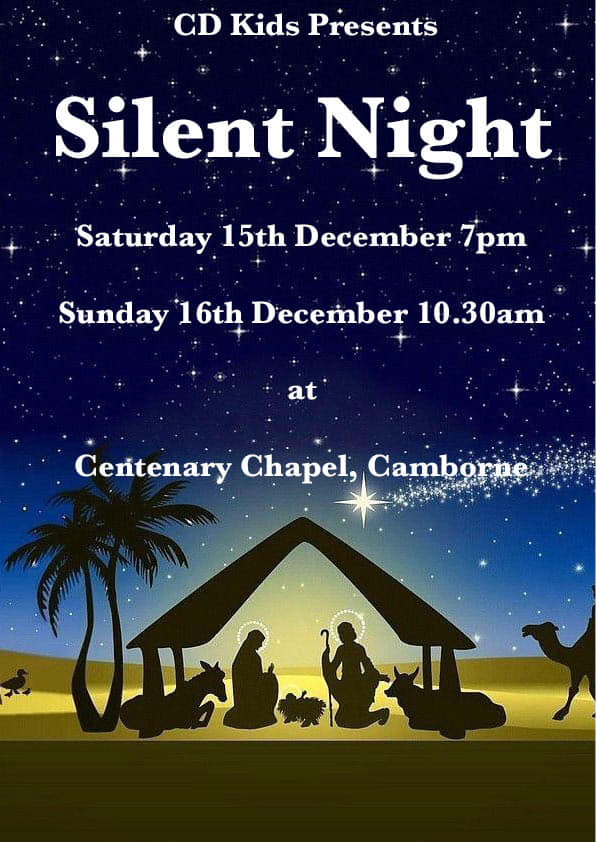 Silent Night Nativity, Camborne, Cornwall